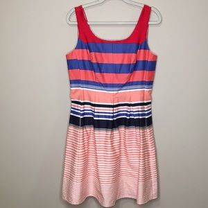 Tiana B. Stripped Tank Dress